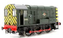 Dapol 7D-008-009 Class 08 shunter D3002 BR Green late crest/wasp stripes.
